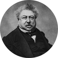 フランスの小説家 アレクサンドル・デュマ